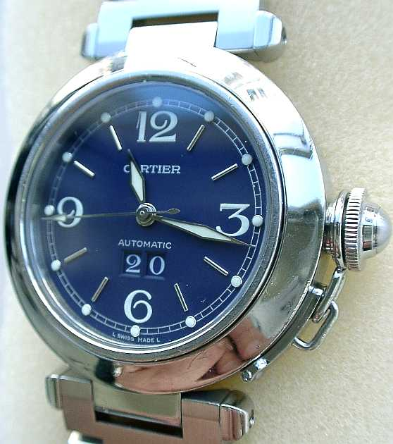 the best attitude 19998 e90d0 カルティエ修理、時計修理CartierはカルティエパシャC時計修理 ...