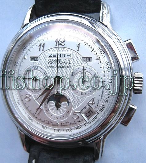 promo code 8cab9 23202 ゼニスエルプリメロ時計修理はクロノグラフのオーバーホール ...